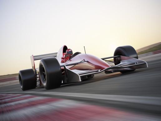 Bil race